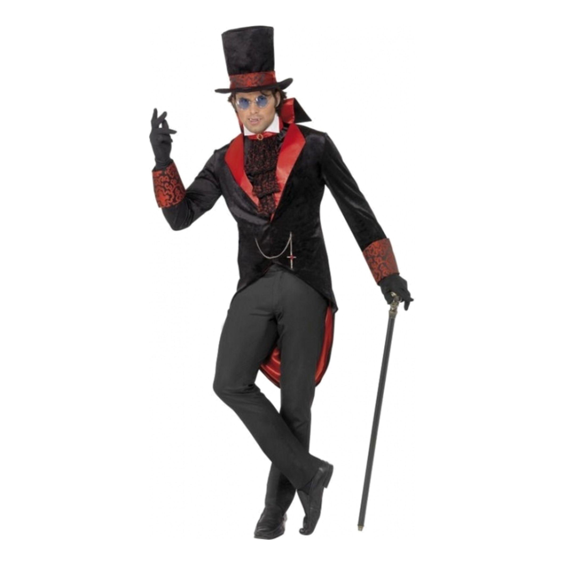 Dracula Halloween Maskeraddräkt - Medium