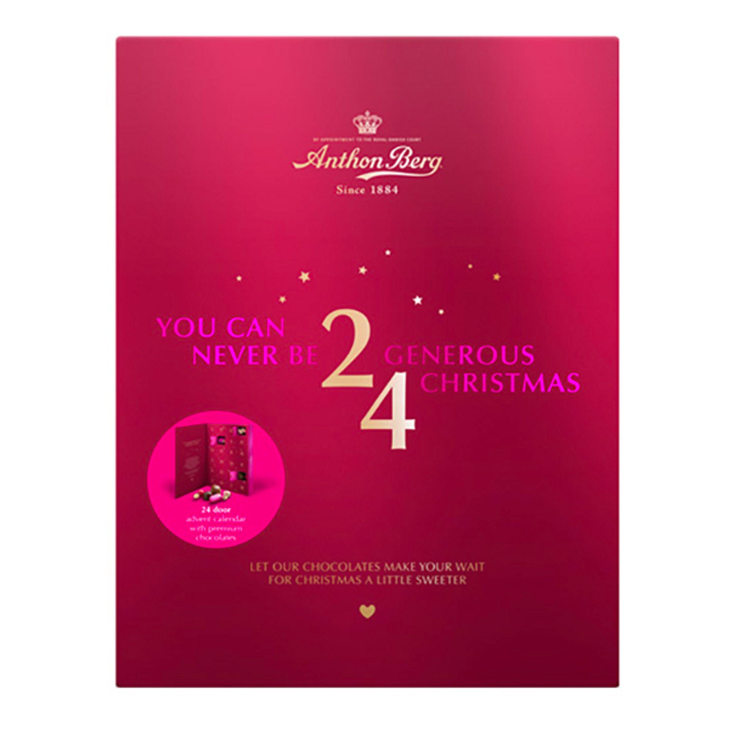 Anthon Berg Chokladkalender - 245 gram