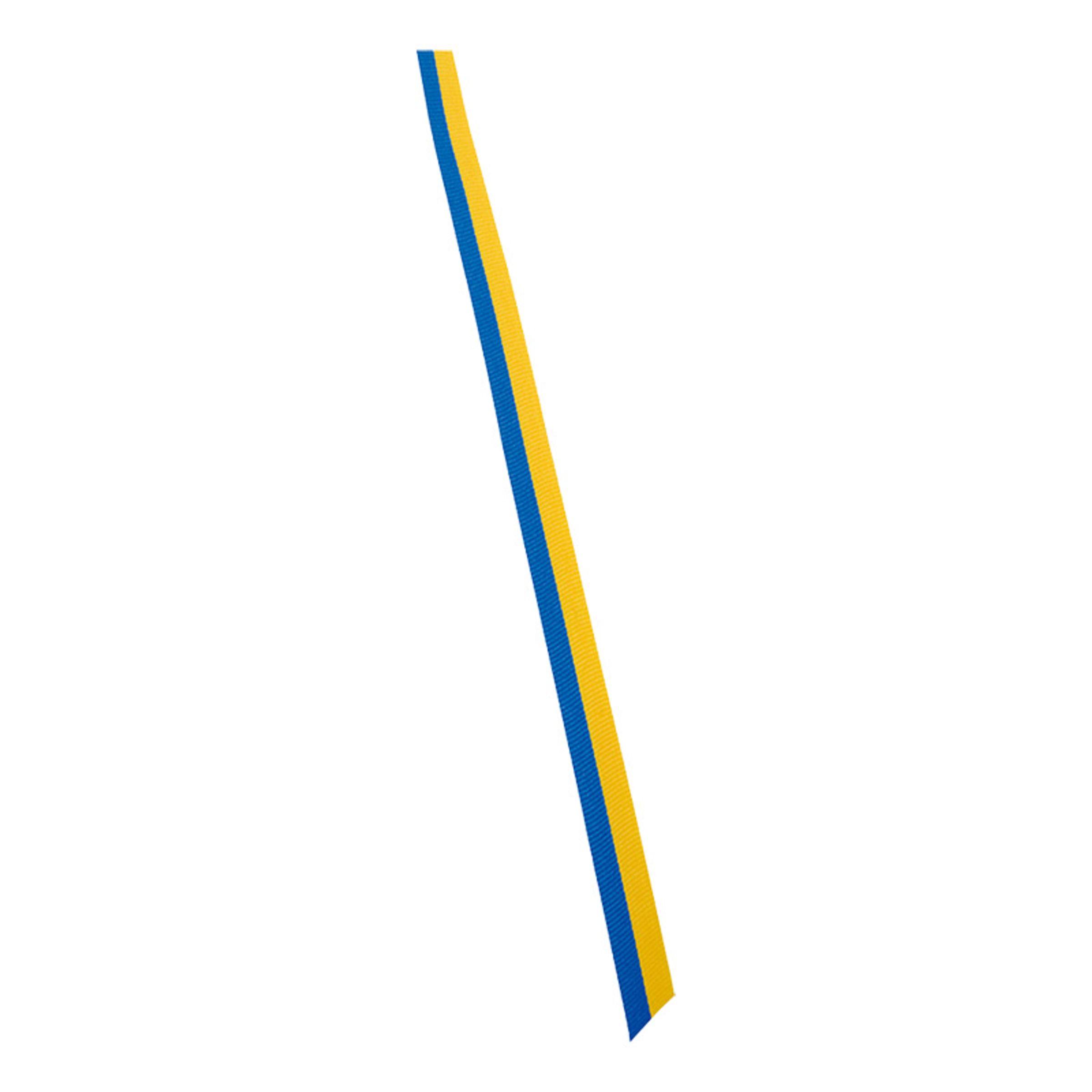 Sverigeband Blå/Gul - 2,5cmx4m