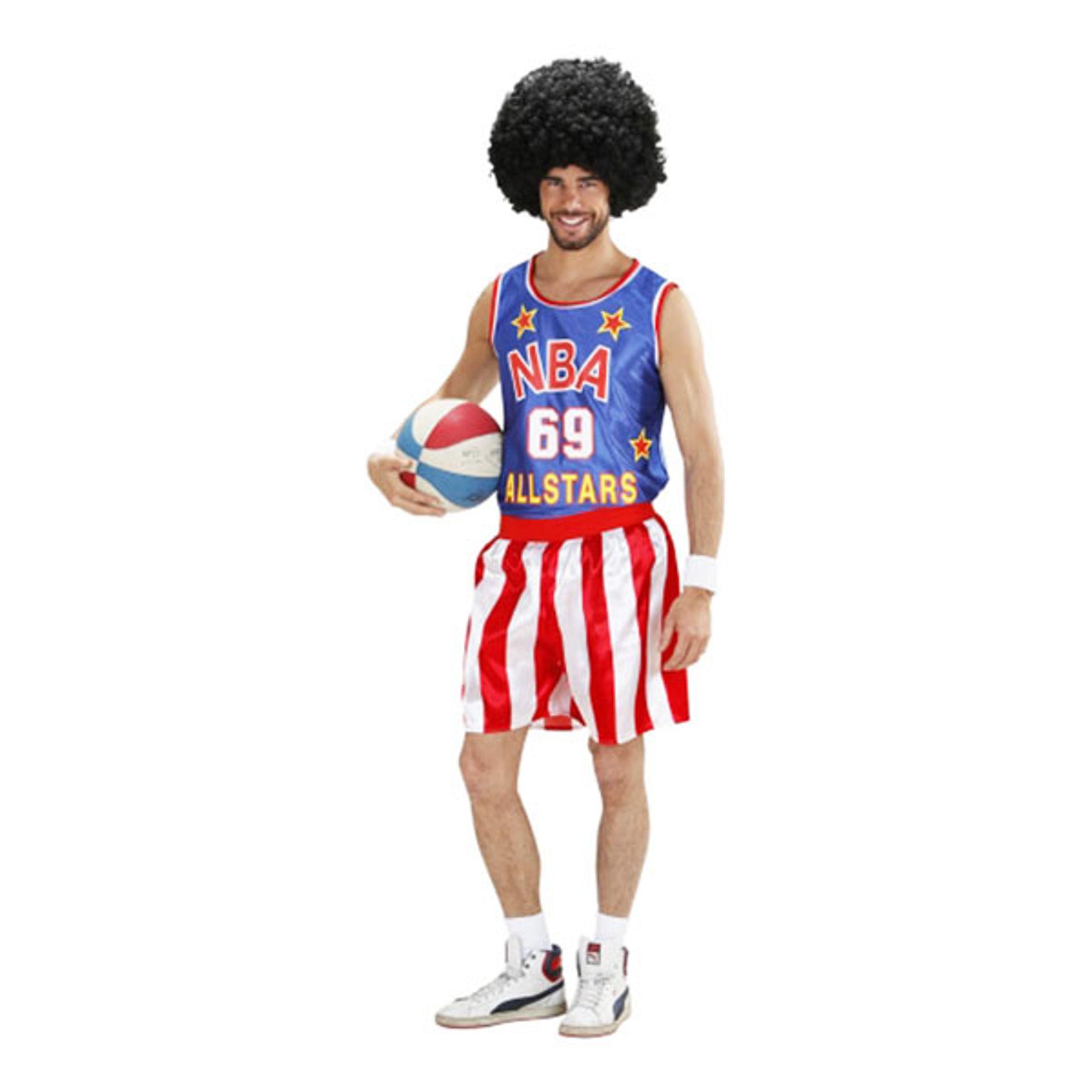 Basketbollspelare Maskeraddräkt - Medium