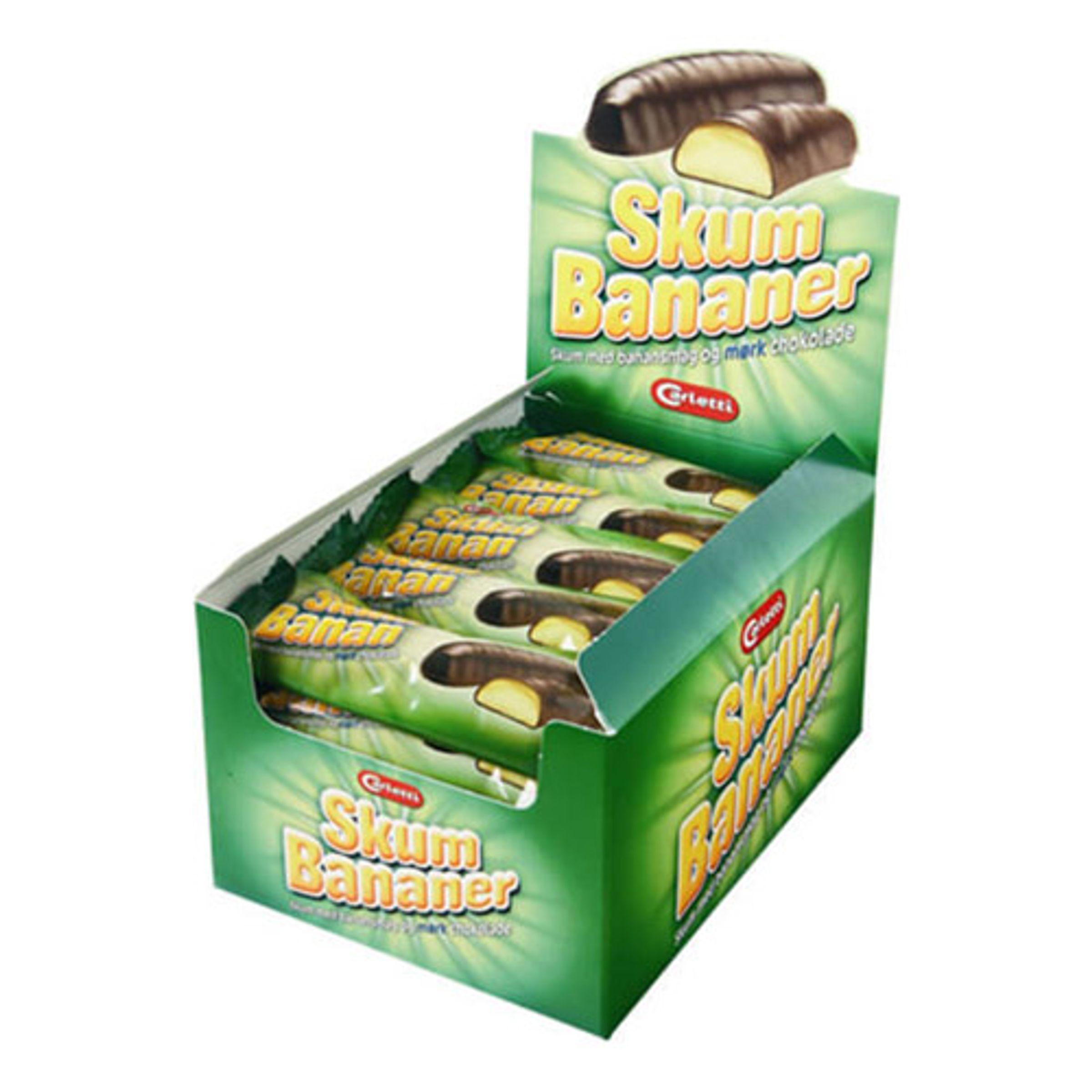 Carletti Skumbananer - 1-pack