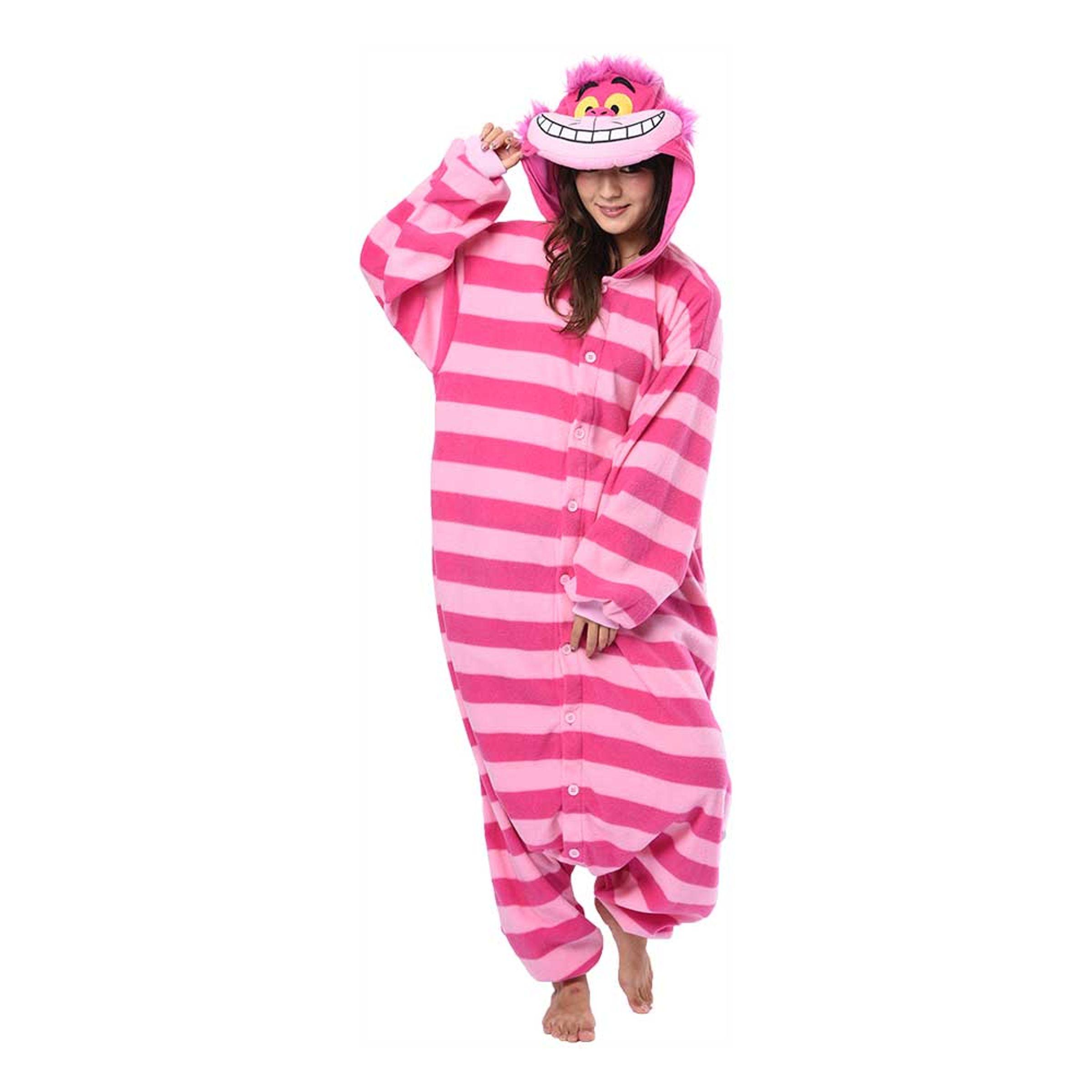 Cheshire Cat Kigurumi - Medium   Hem//Teman//Färger//Rosa   Partyoutlet