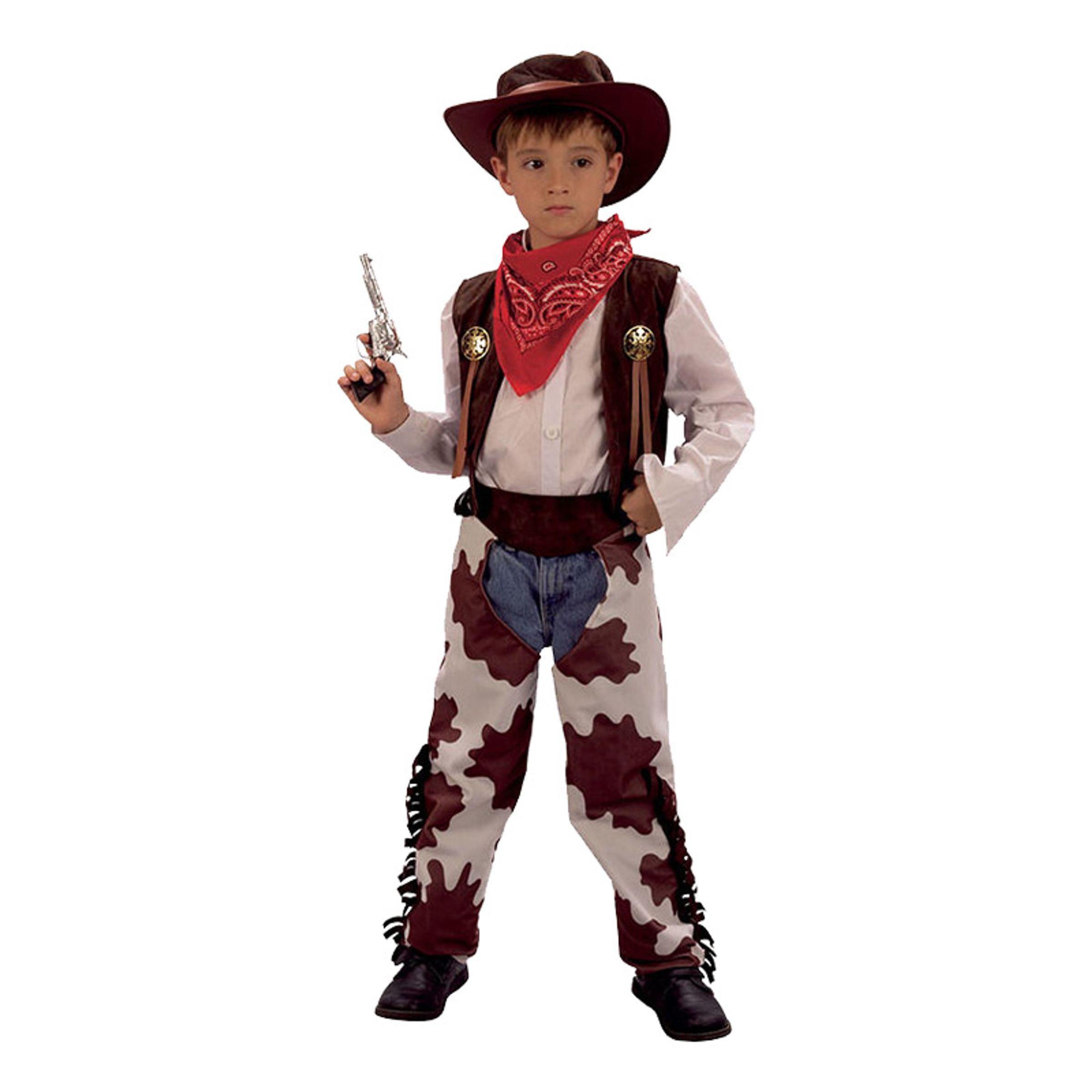 Cowboy Barn Maskeraddräkt - Medium