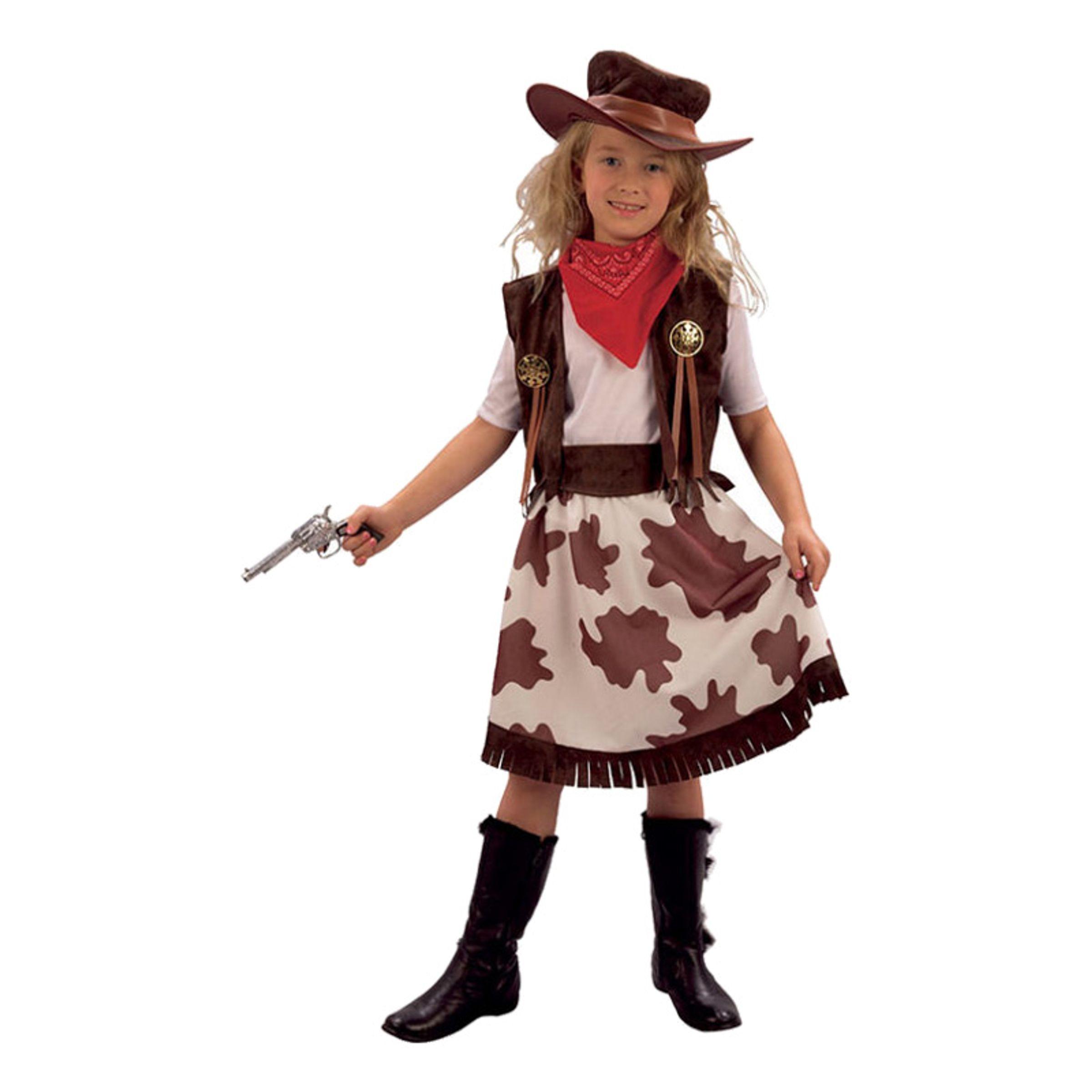 Cowgirl Barn Maskeraddräkt - Small