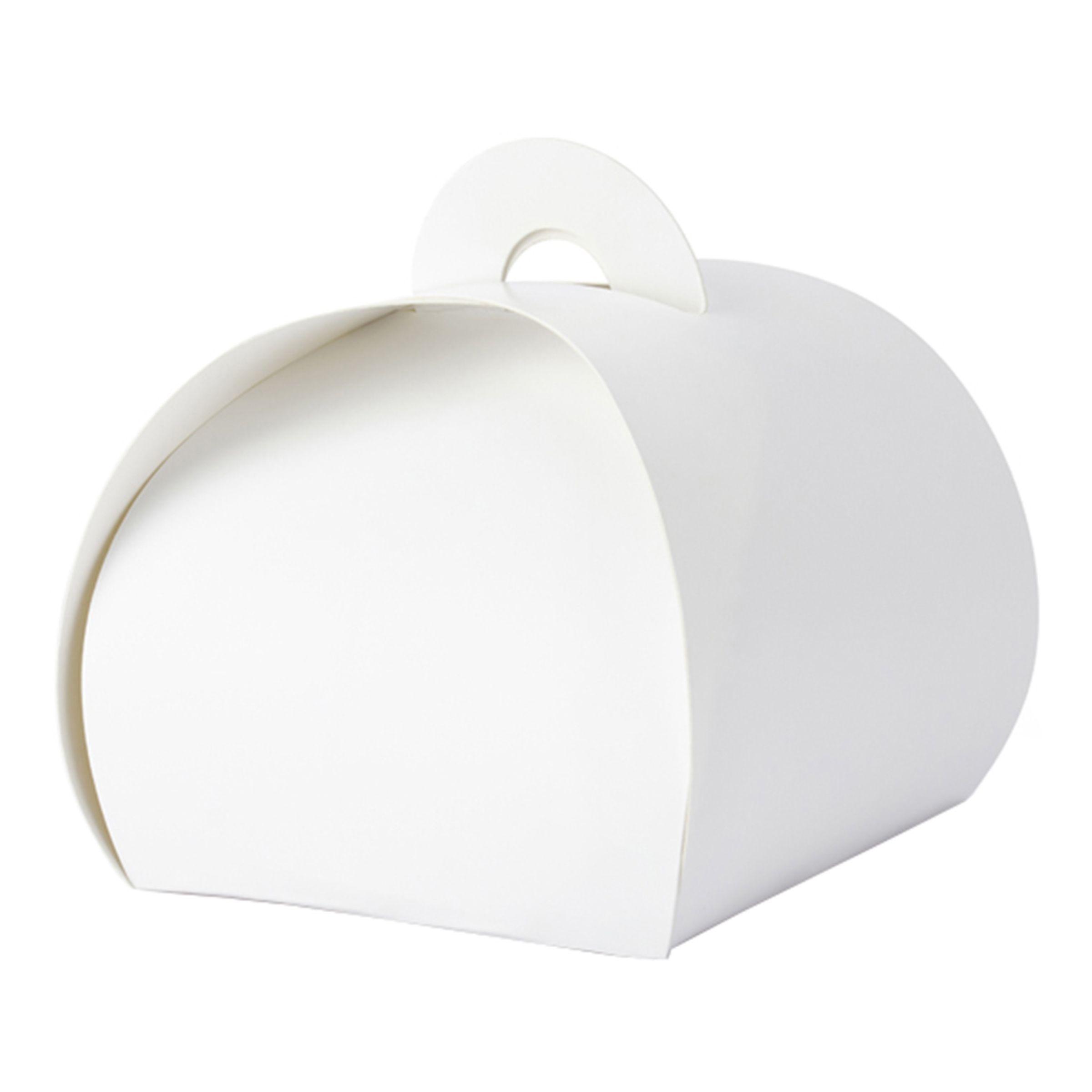 Dekorationsboxar Vit - 10-pack