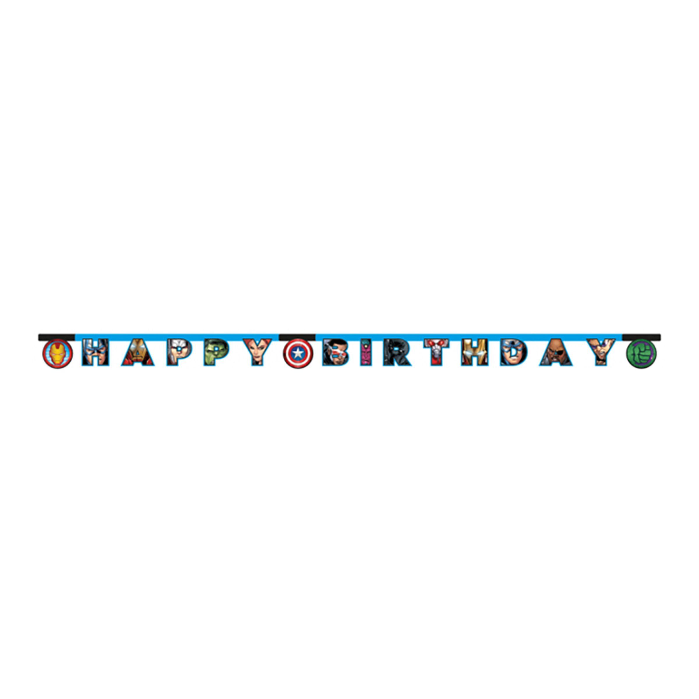 Girlang Happy Birthday Avengers