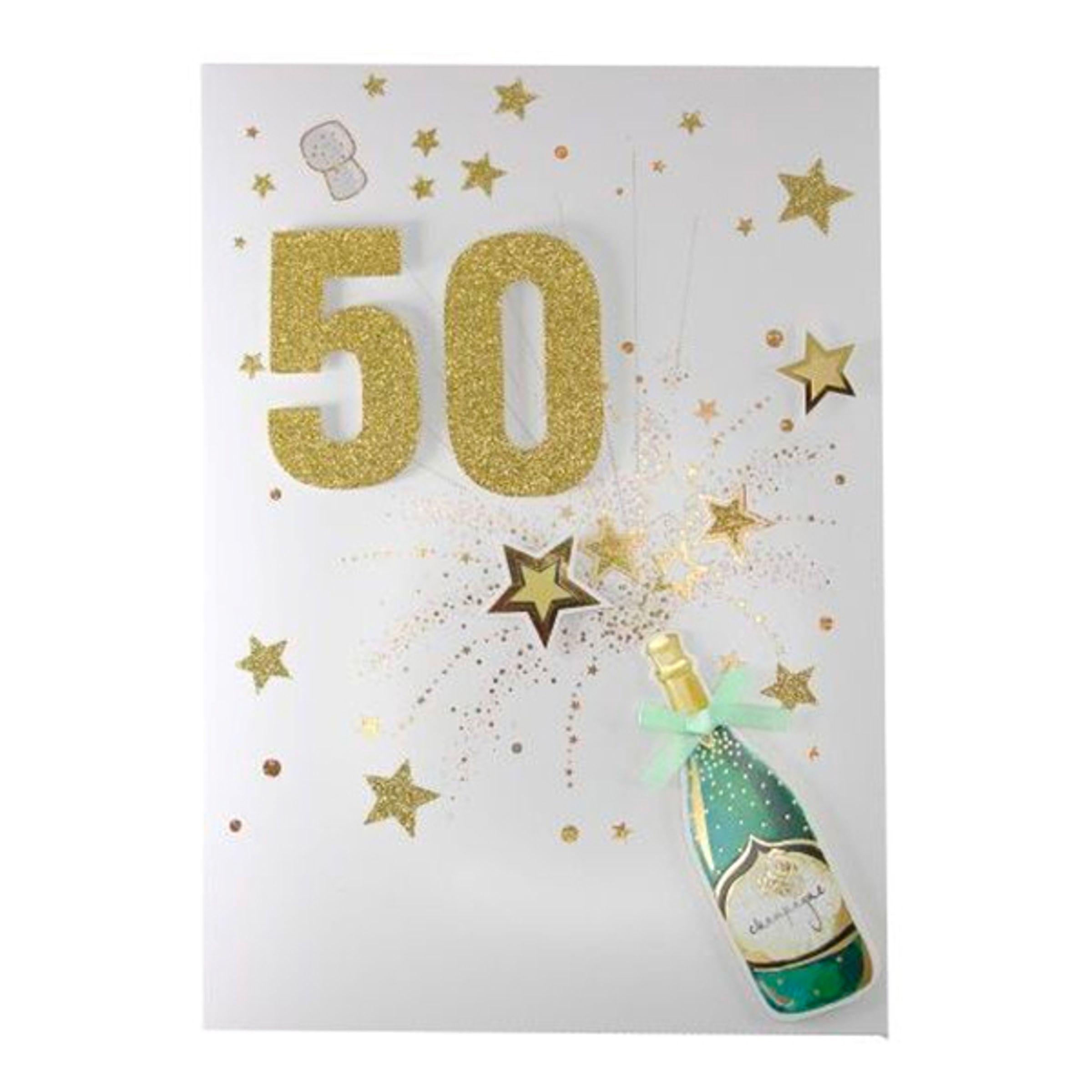 Gratulationskort 50