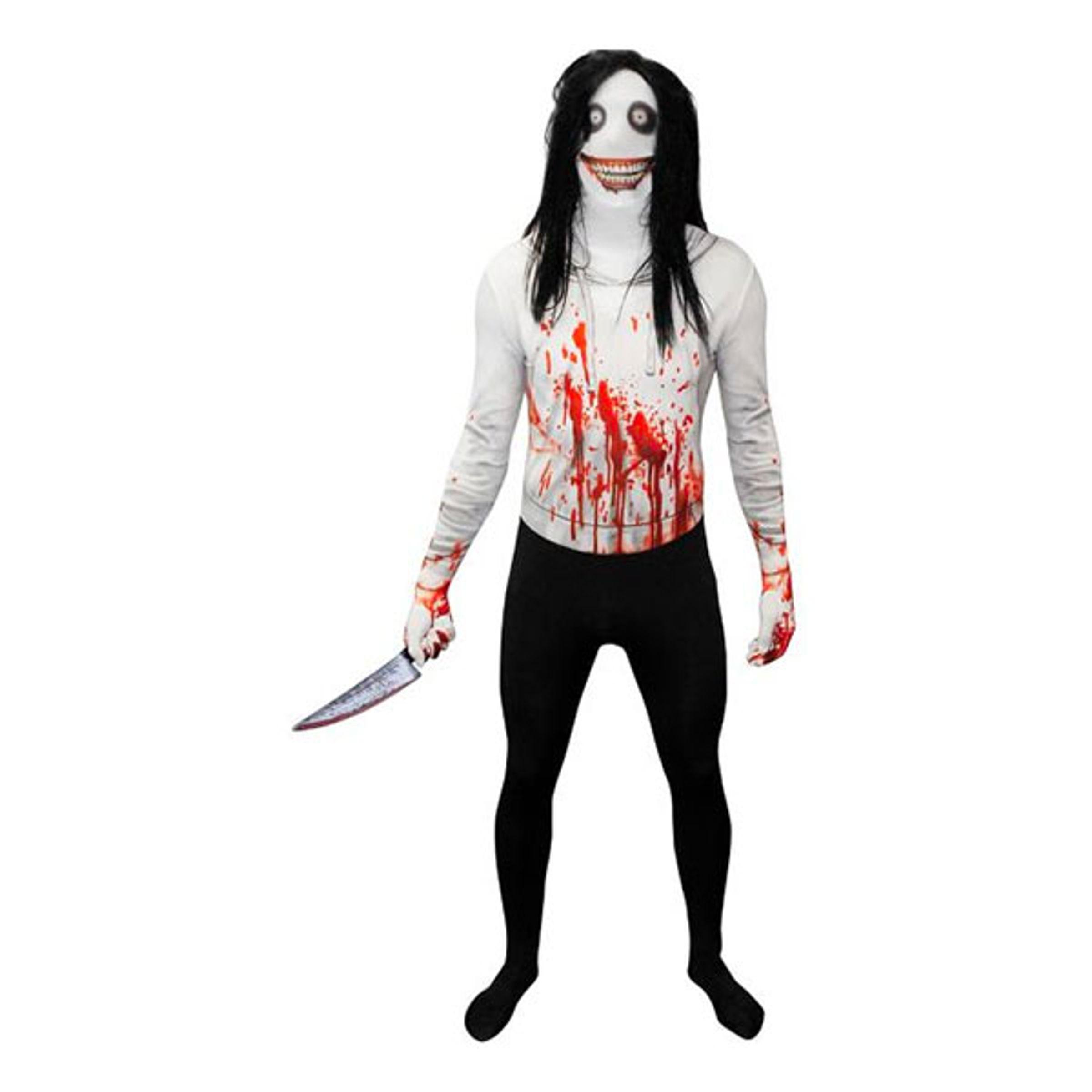 Jeff the Killer Morphsuit - Large