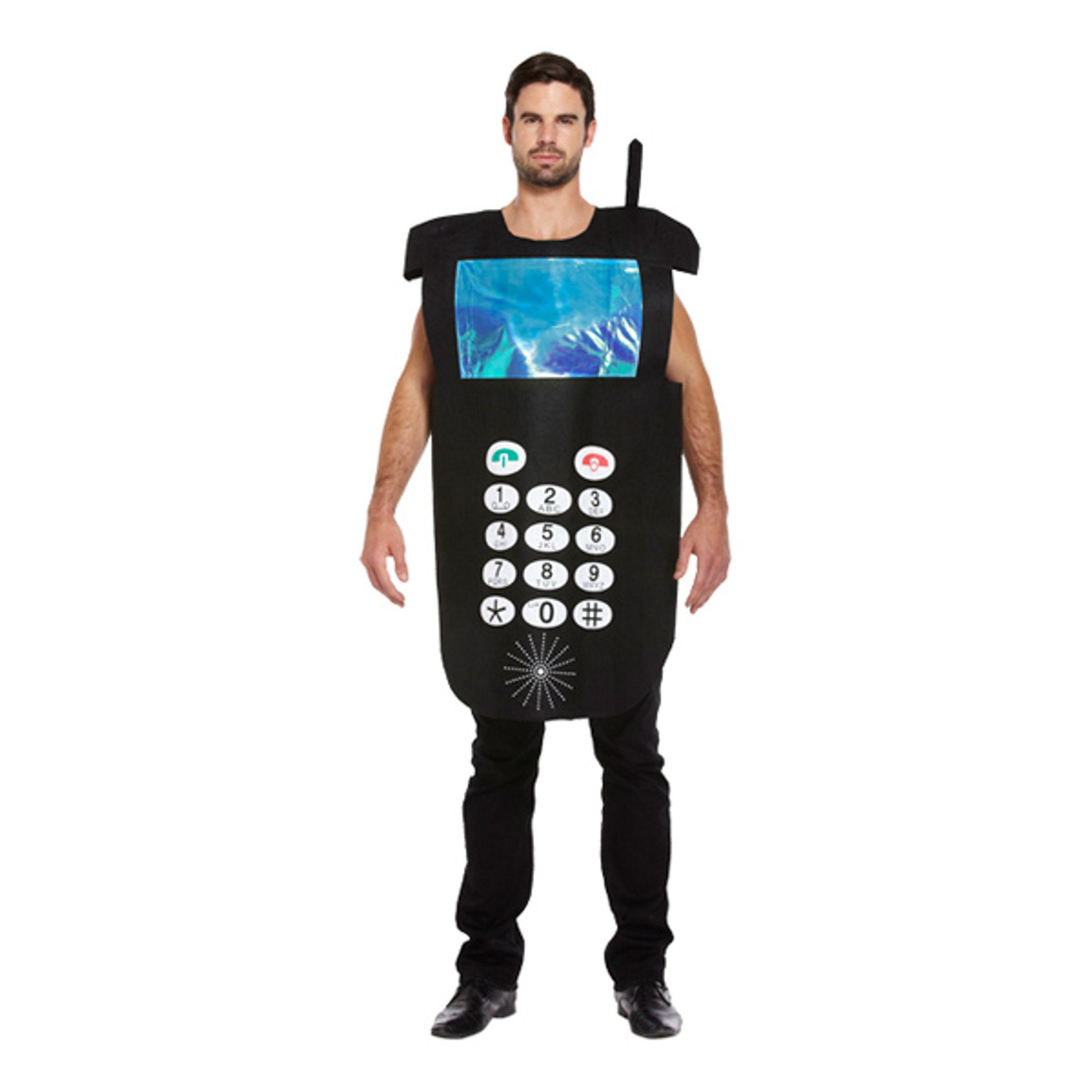 Mobiltelefon Maskeraddräkt - One size
