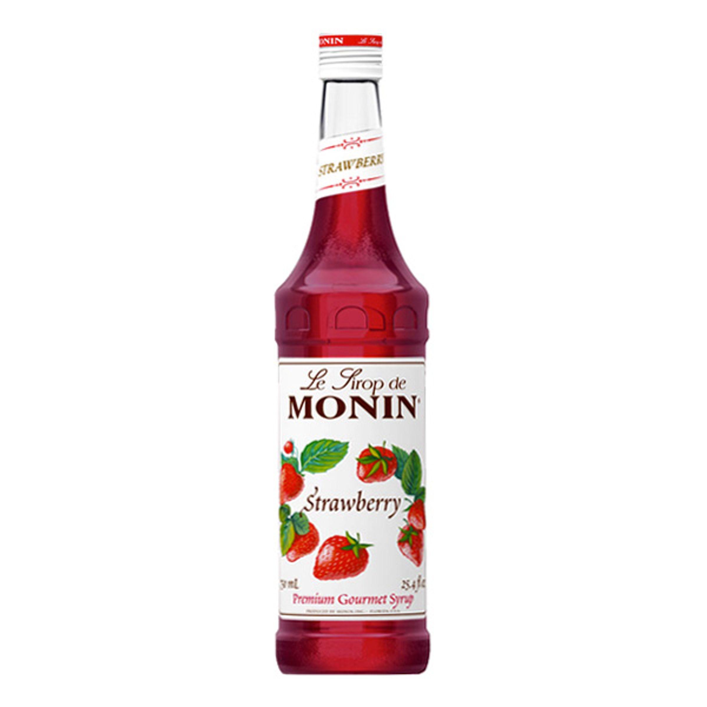 Monin Jordgubbe Syrup - 70 cl