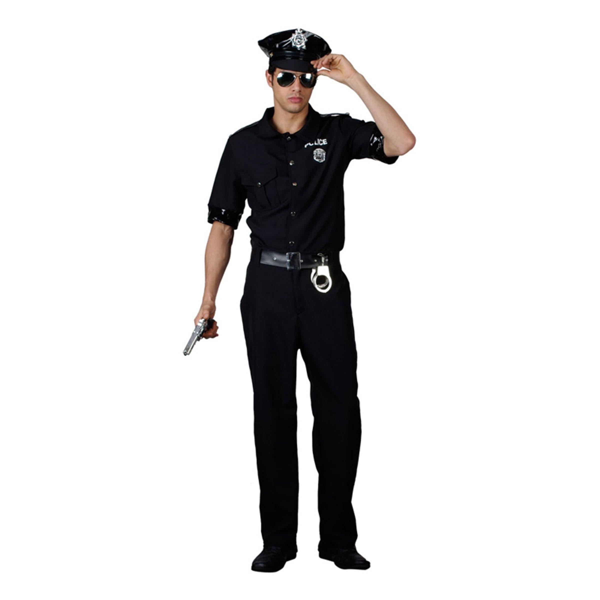 New York Polis Maskeraddräkt - X-Large