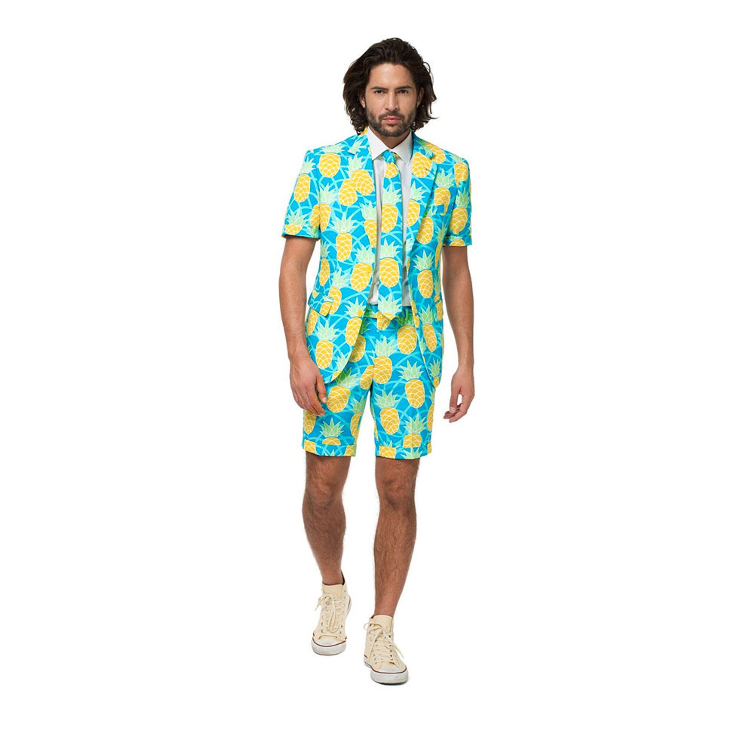 OppoSuits Shineapple Shorts Kostym - 48