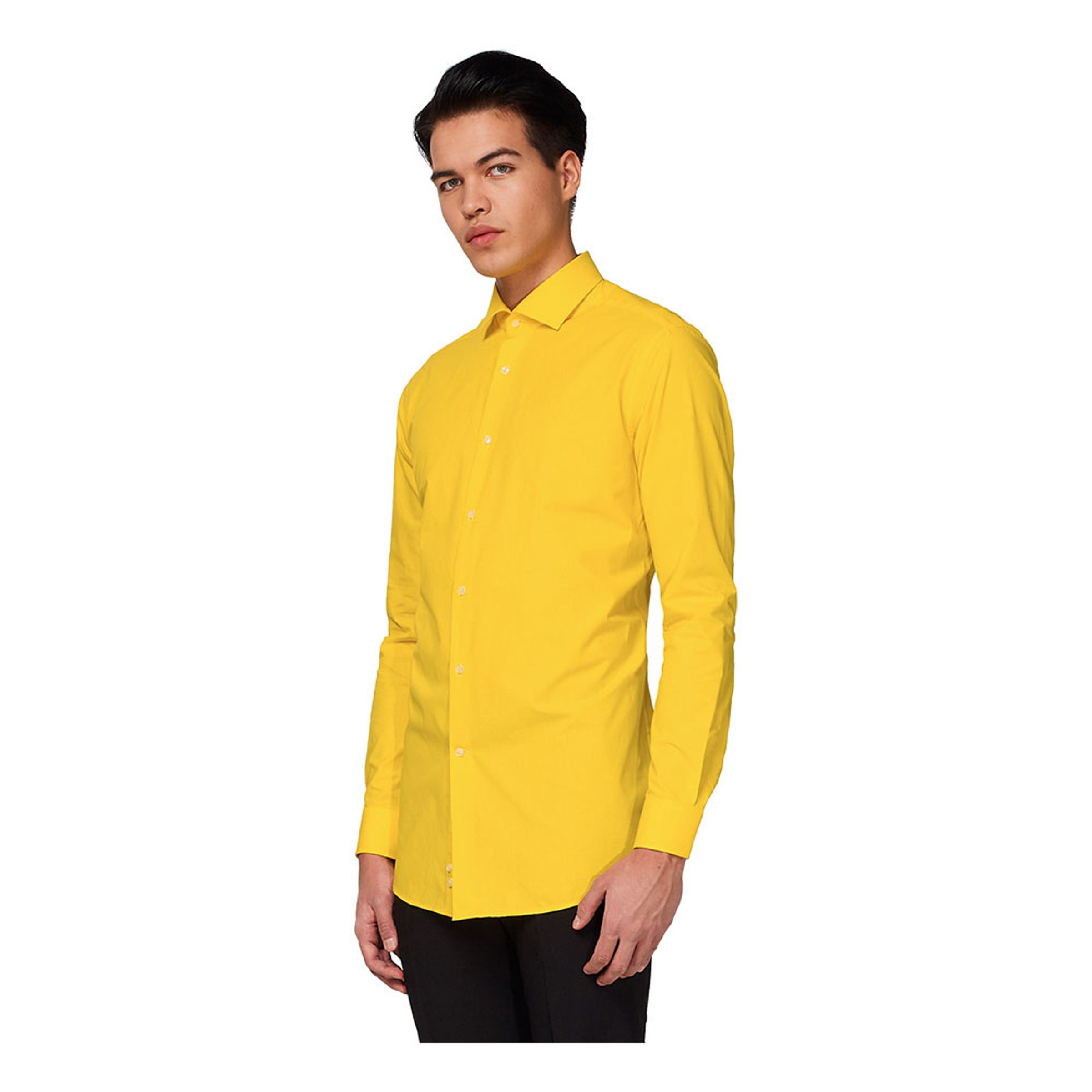 OppoSuits Yellow Fellow Skjorta - 47/48