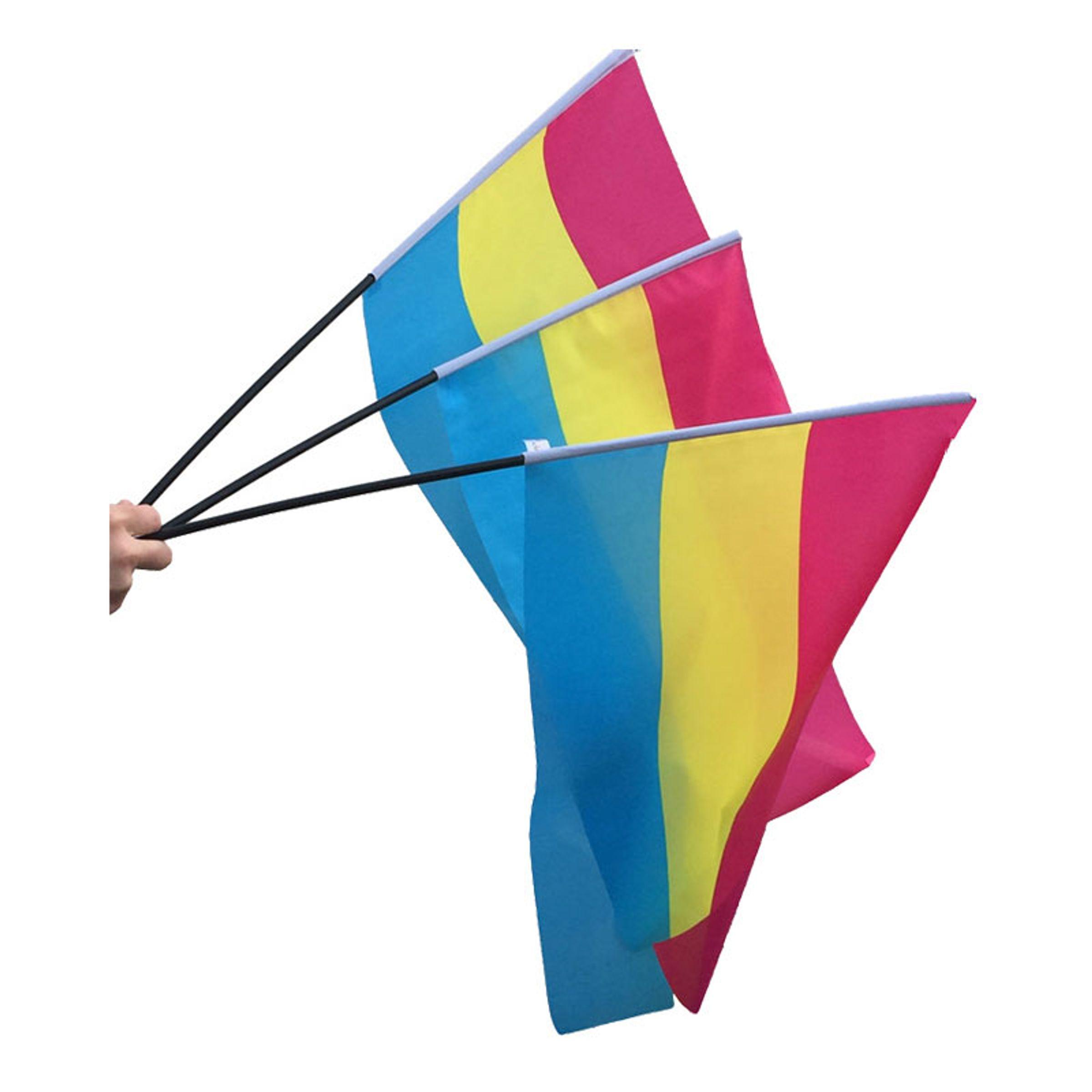 Panflagga på Pinne 40x60cm - 1-pack