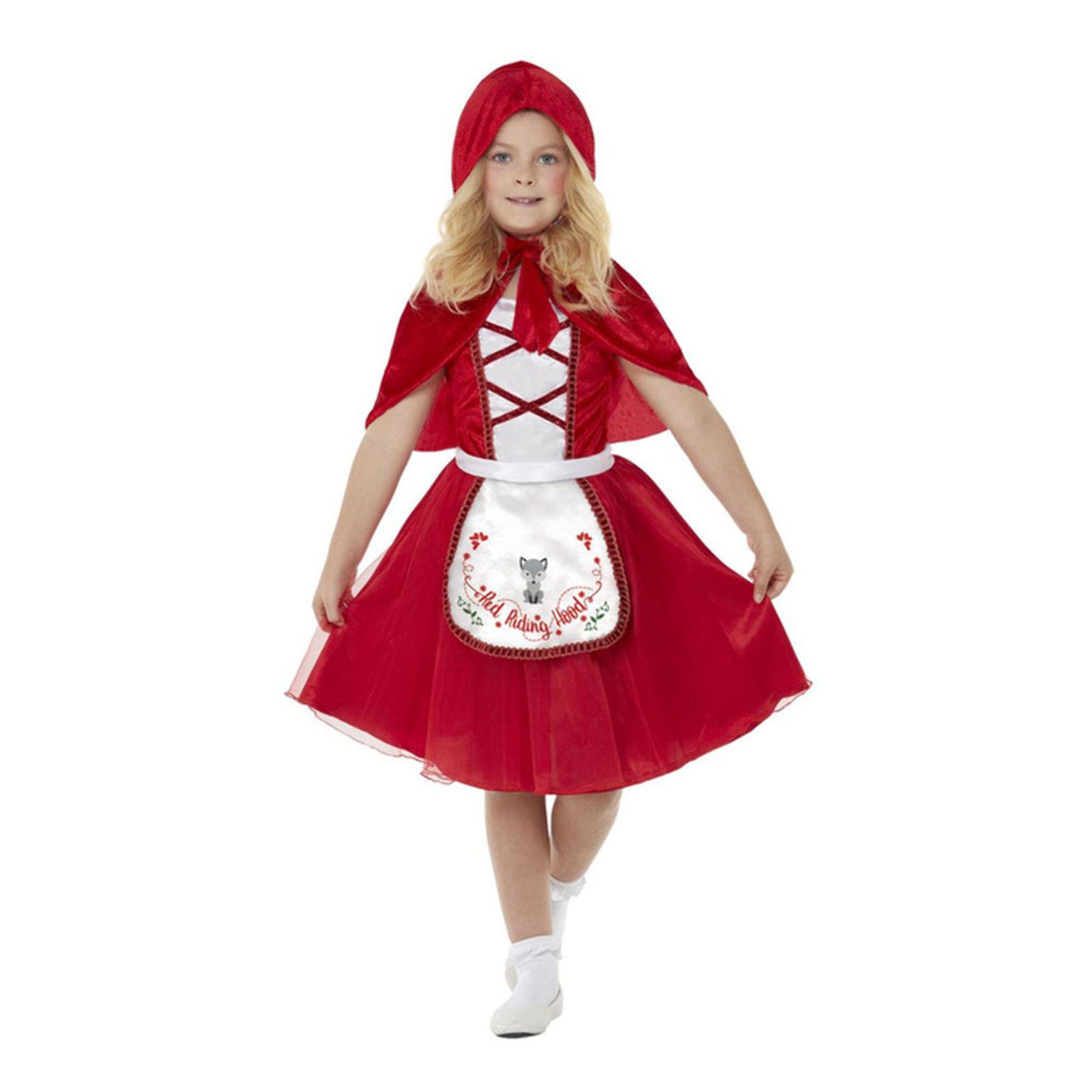 Rödluvan Barn Maskeraddräkt - Large