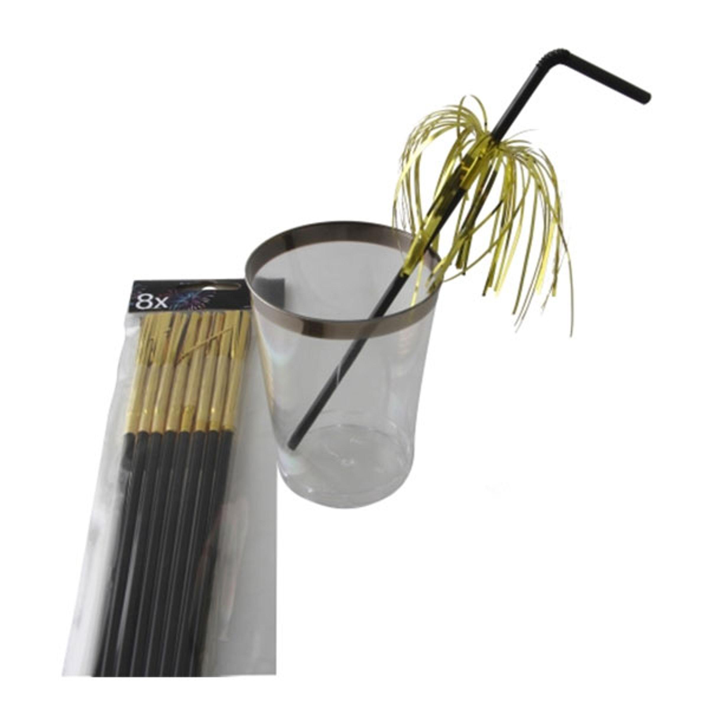 Sugrör Fyrverkerier - Guld