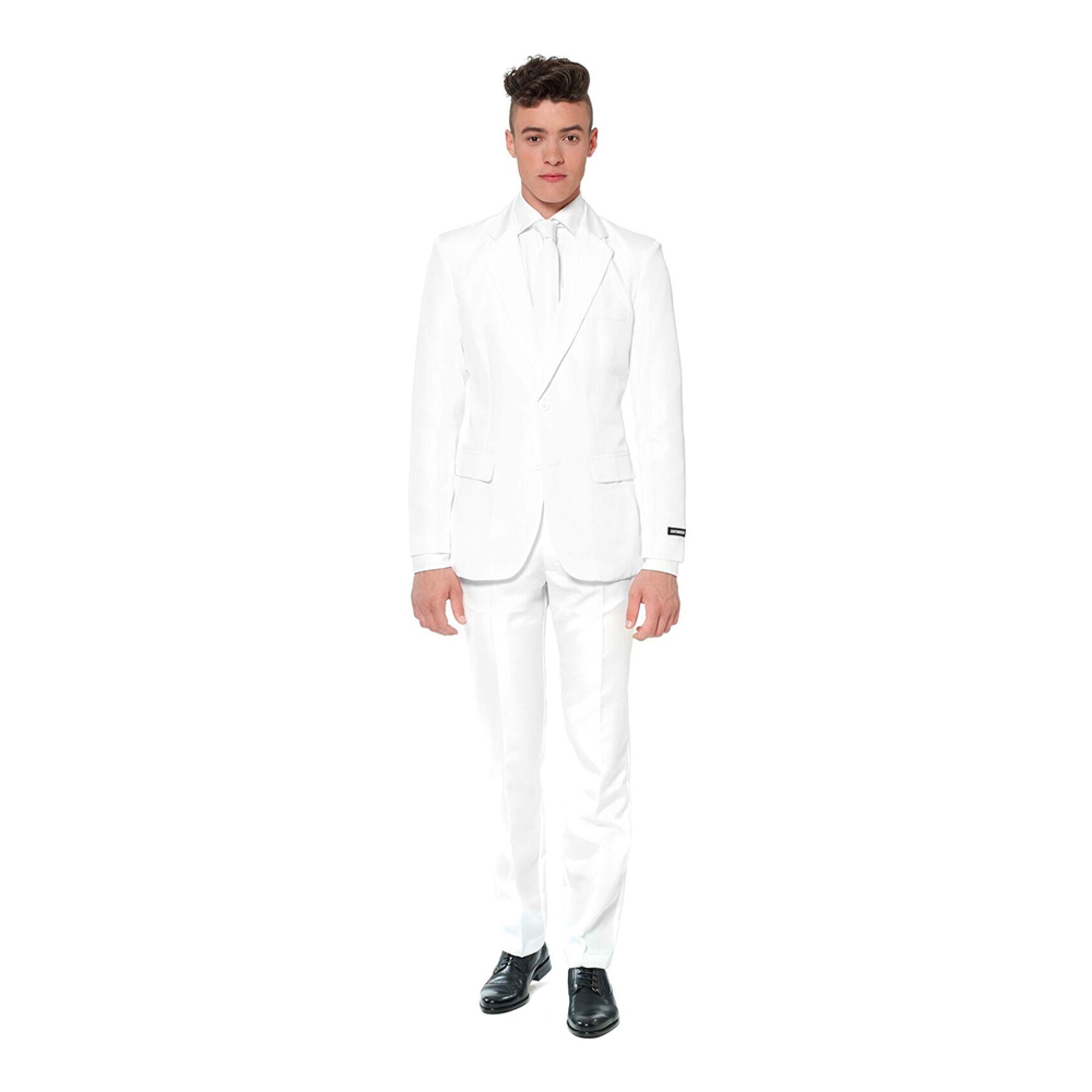 Suitmeister Vit Kostym - X-Large