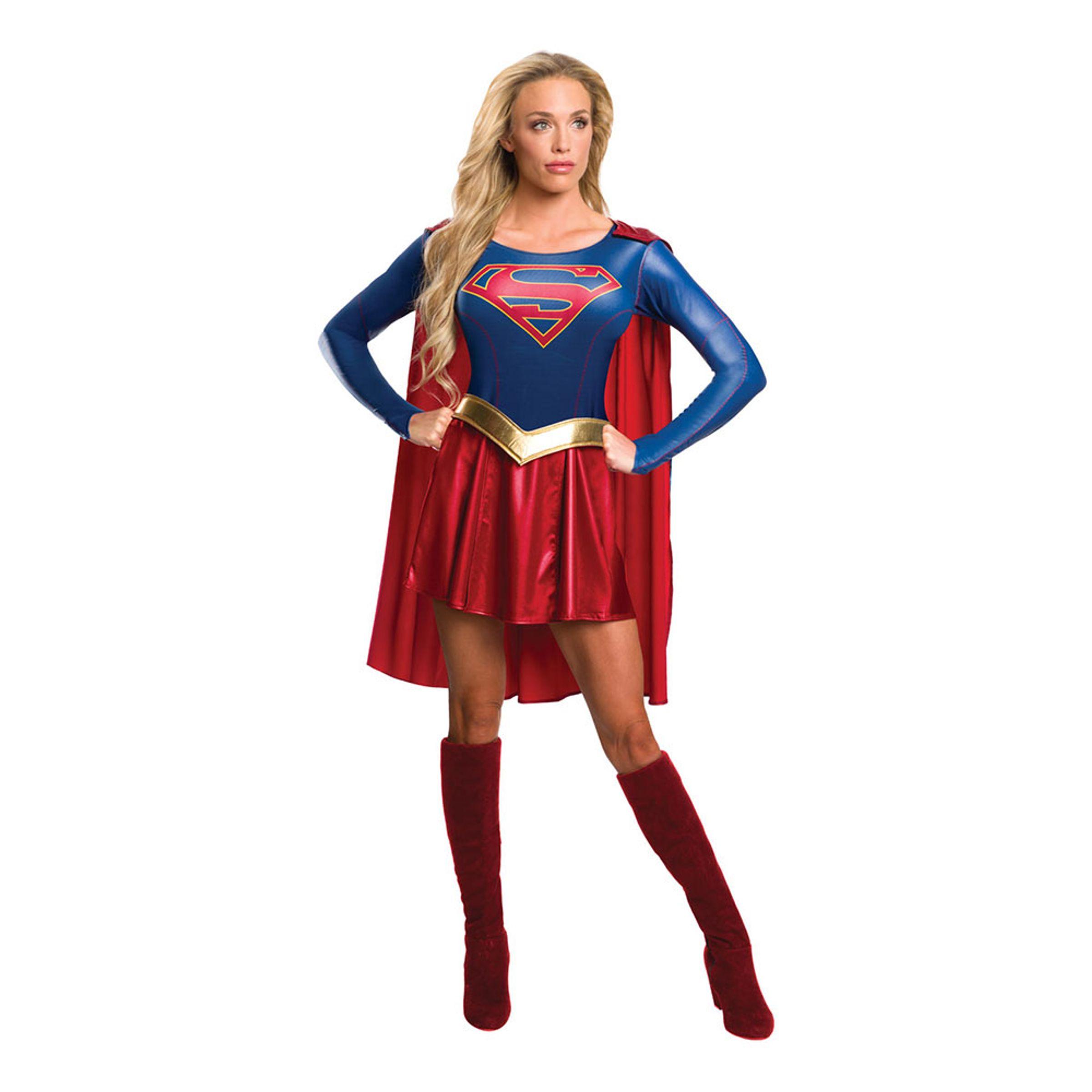 Supergirl Tv-Serie Maskeraddräkt - Large