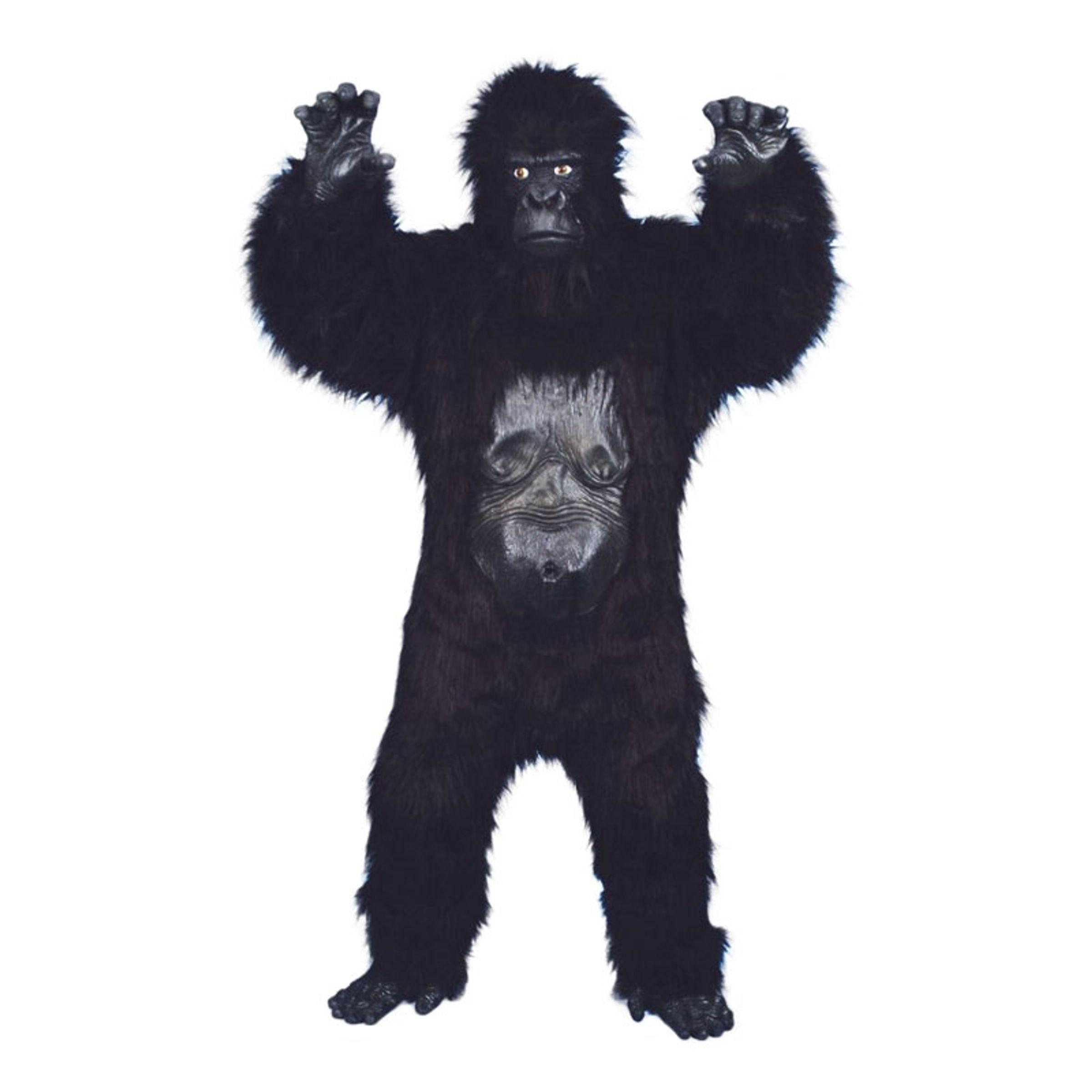 Vild Gorilla Deluxe Maskeraddräkt - One size