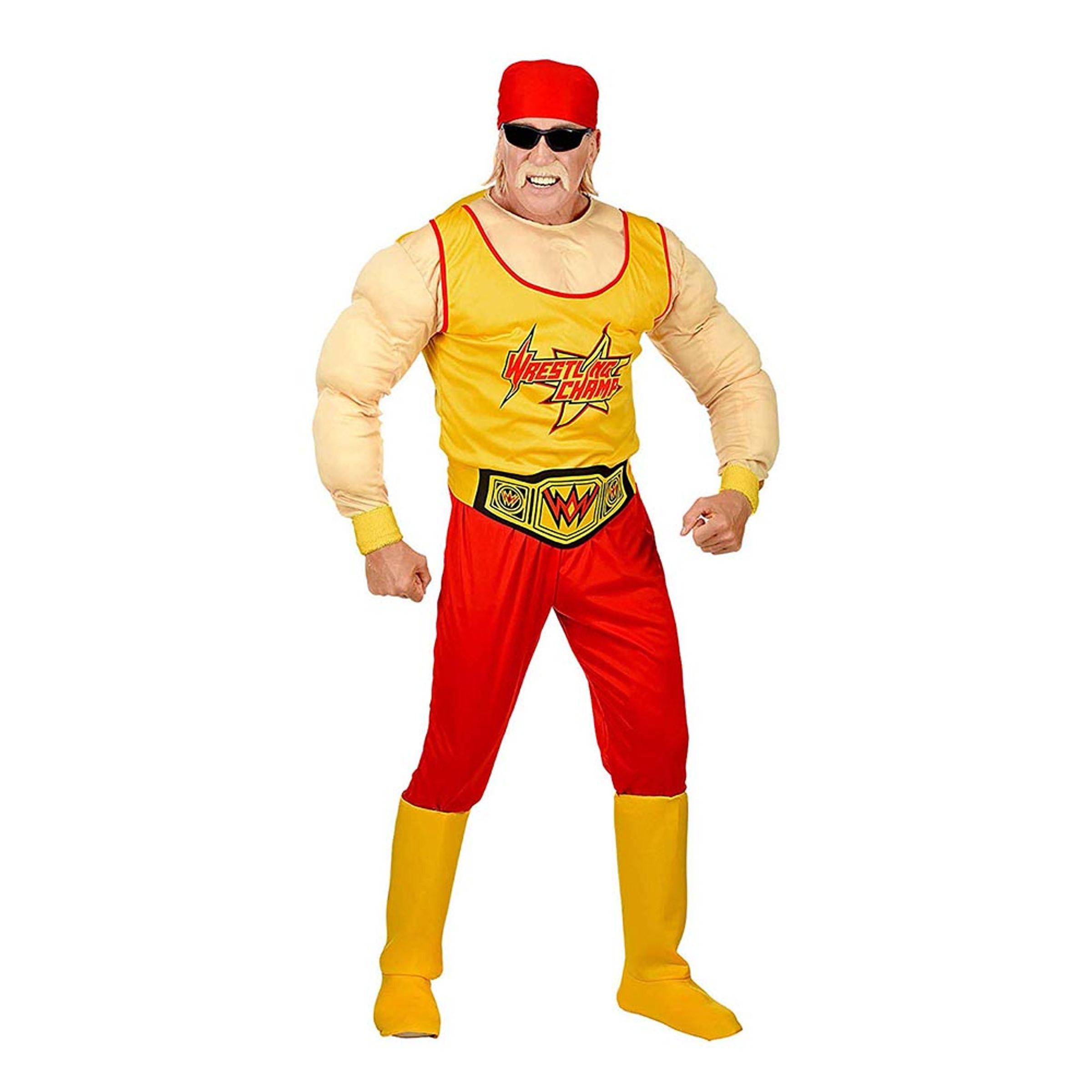 Wrestling Mästare Maskeraddräkt - Medium