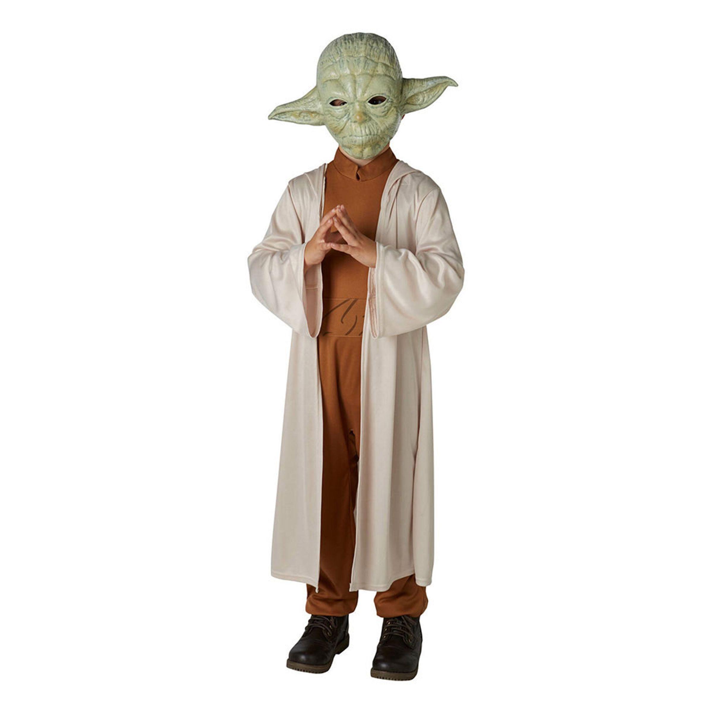 Yoda Klassisk Barn Maskeraddräkt - Medium