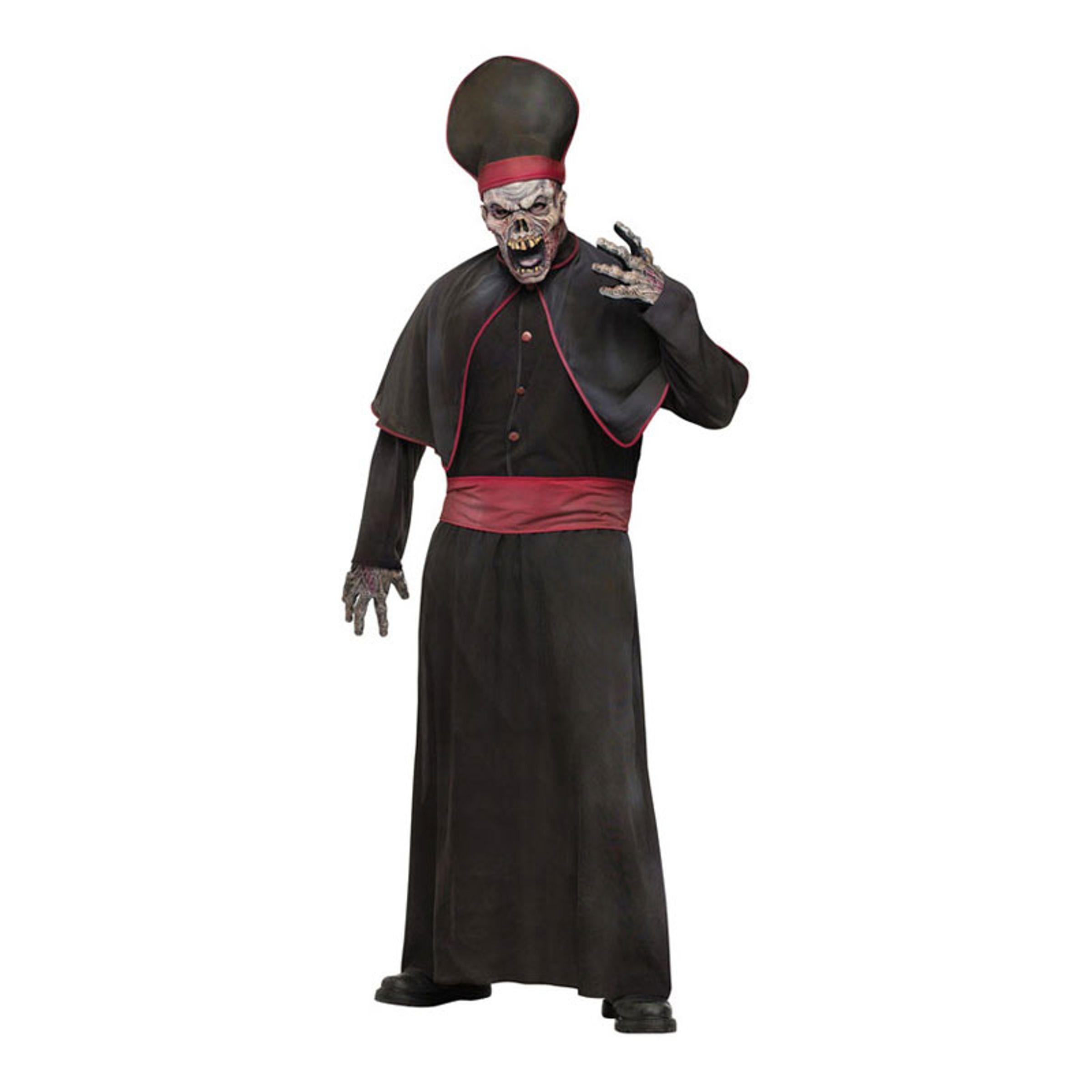 Zombie Överstepräst Maskeraddräkt - One size