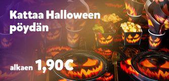 Halloween kattaus