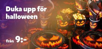 Halloweendukning